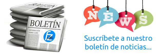 Suscríbete a nuestro boletín de noticias...