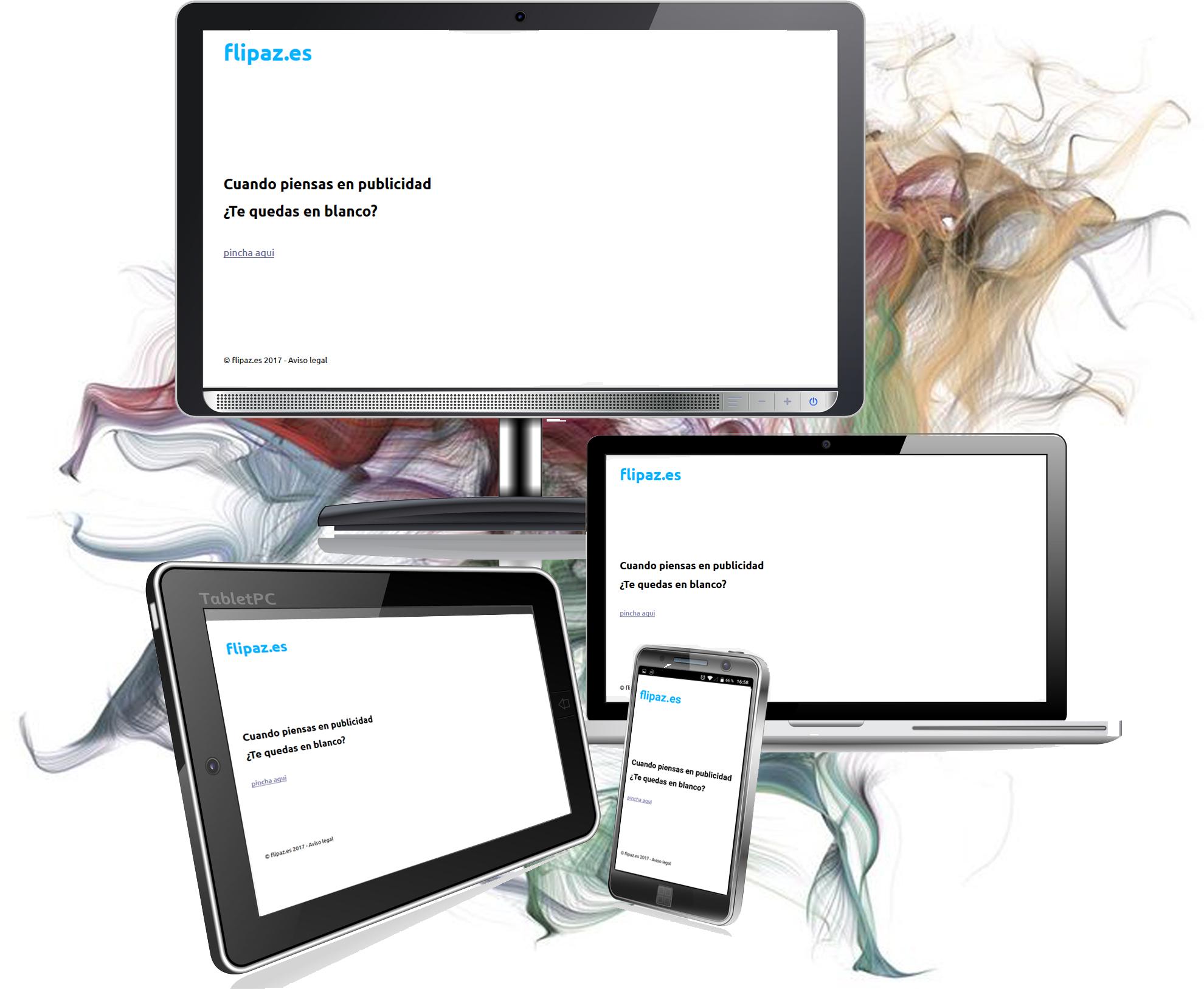 flipaz.es - Tu web adaptada a todos los dispositivos