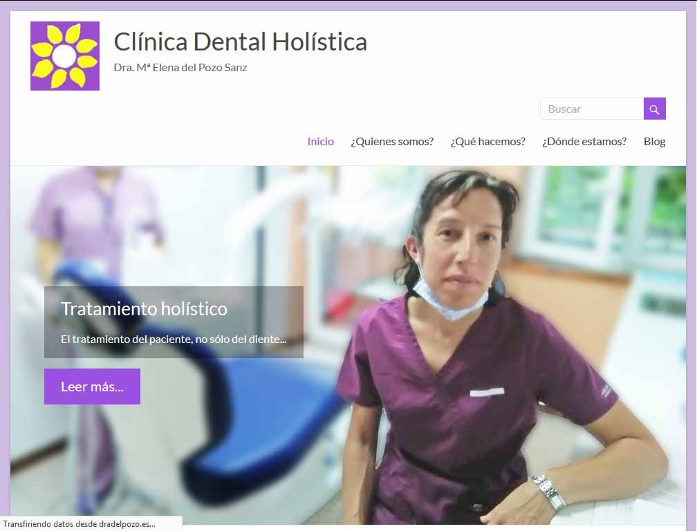 Clientes flipaz.es - Clínica Dental de la Dra. Mª Elene del Pozo